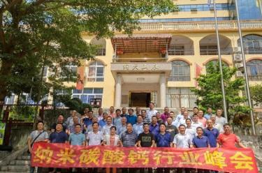 """携手共进  合作共赢  ——""""中国纳米碳酸钙行业峰会""""在纳天山庄召开"""